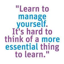 manage self