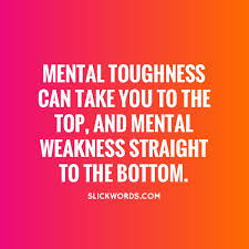 mental tough